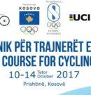 Trajnimi i trajnerëve për Federatën e Çiklizmit të Kosovës