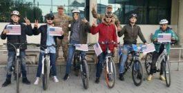 """""""Qiklistët e Kosovës dhe Federata e qiklizmit e Kosovës solidarizohen me qiklistët amerikanë të lënduar dhe të vrarë nga sulmi i djeshëm"""
